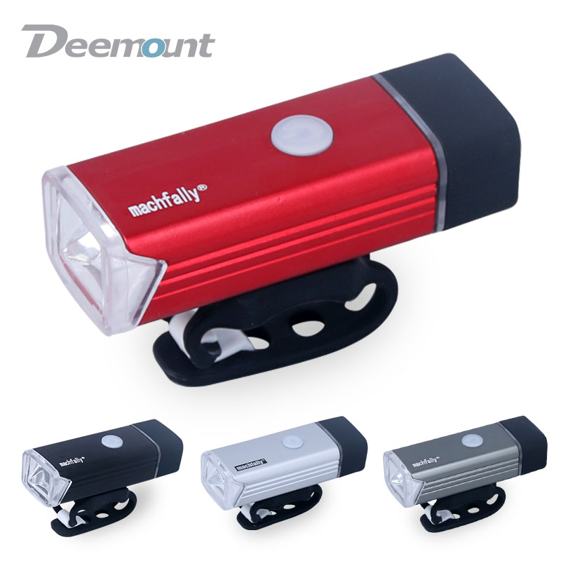 Bicycle Front Light High Power Waterproof USB Rechargeable Bike Light Safety Warning LED Handlebar Cycling Bycicle Light