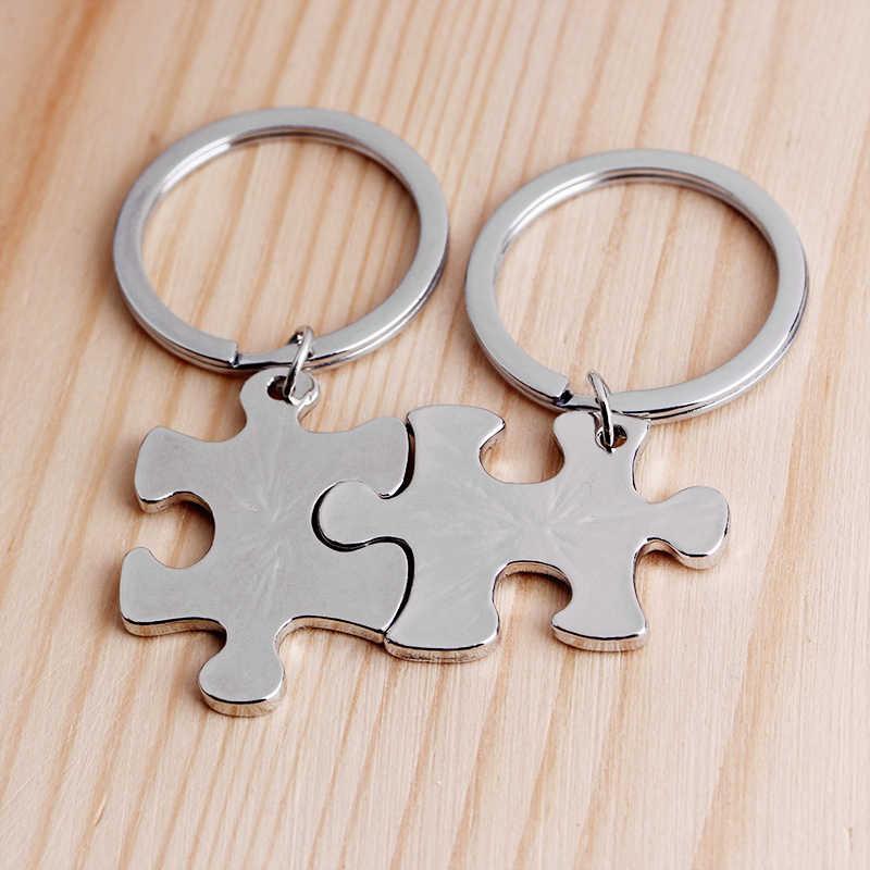 Awalys key แหวน forever keychains Lovers keychains ของขวัญเพื่อนที่ดีที่สุดแหวนของขวัญวันแม่สำหรับแม่พ่อ soul mate forever