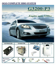 OGO Complete HHO system G3200 P3 Normal PWM Controller upto Engine 3200CC Universal Cars