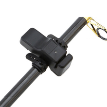 New Outdoor Fishing Float Bell Led Fishing Rod Bite Digital Alarm Red Light Twin Bells Clip Alerter