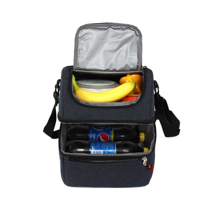 Double Insulated Lunch Box Lunch Bag for Adults Men Women Kids Water-Resistant Leakproof Cooler Bento Bag for Work School Picnic