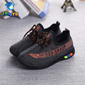 TUTUYU 2017 Yeezy Shoes Kids Shoes Boys Girls Fashion Sneakers Children Breathable Canvas Causal Shoes New Arrival SPLY 1705