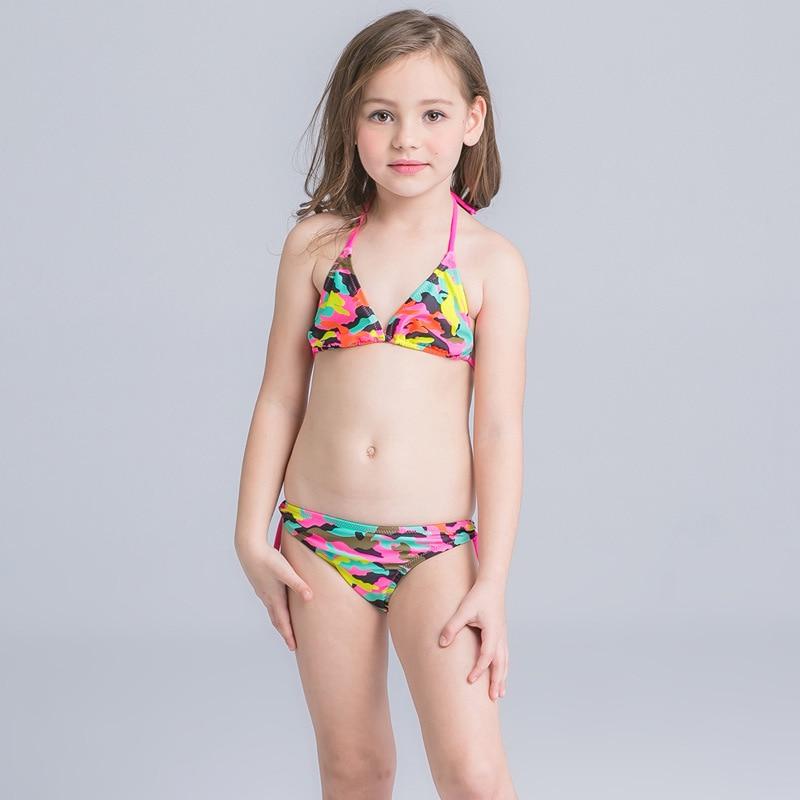 Bikini Set Junior Girls Children Swimwear Kids Summer Swimsuit Girl Swimming Suit Kids Bikini Beach Wear Summer Swimsuit