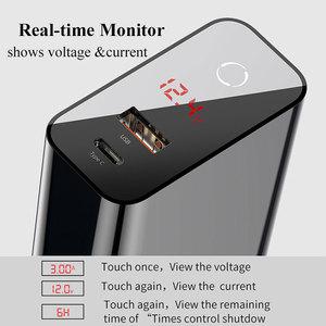 Image 2 - Baseus 45 Вт ЖК дисплей USB зарядное устройство с быстрой зарядкой 4,0 3,0 для Redmi Note 7 QC3.0 PD быстрое зарядное устройство для iPhone 11 Pro Max