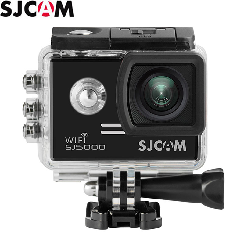 Original SJCAM SJ5000 SJ5000 Wifi 1080P Sports Action Camera Camcorder Novatek 96655 170 Degree Wide Angle Lens экшн камера sjcam sj5000 wifi blue
