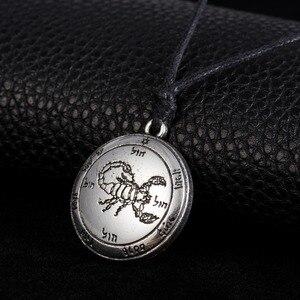 Teamer Key of Solomon мужское ожерелье с подвеской в этническом стиле, амулет для мужчин и женщин