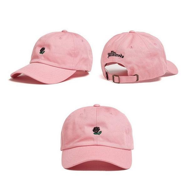 Prix pour Rouge Rose d'été rose Papa Chapeau blanc polo casquettes 2017 filles golf sport casquettes de baseball polo chapeaux pour femmes hommes marque style