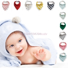 Baby Infant Kids Girls Boy Tassel Saliva Towel Bandana Bibs Head Scarf #H055#