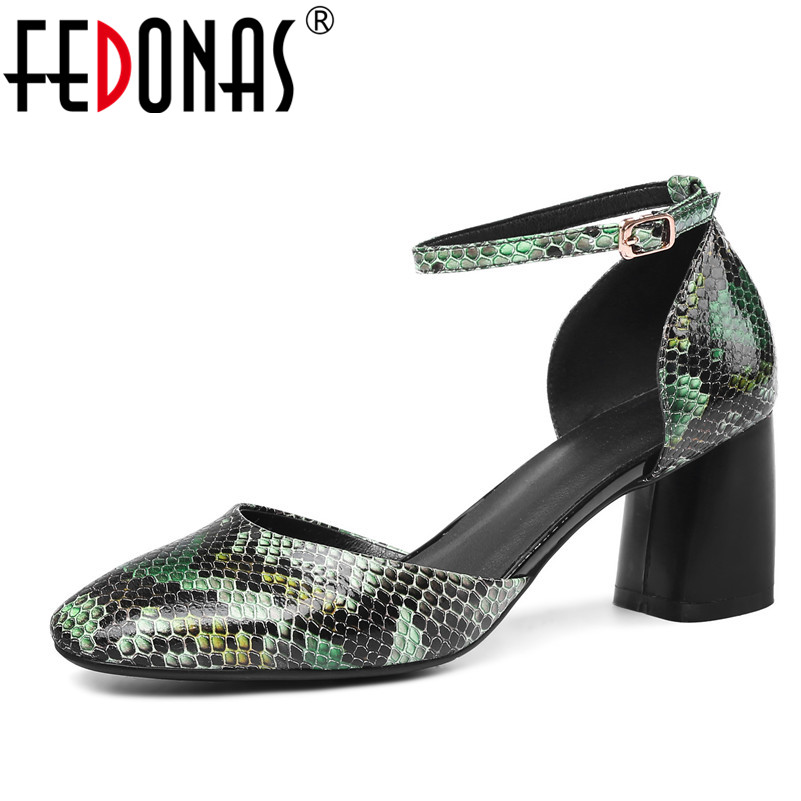 FEDONAS Women Sandals 2018 Fashion Summer Gladiator Sandals Mary Jane Wedding Party Shoes Woman Female High Heeled Pumps Shoes new 2018 high heel shoes woman sandals rhinestone platform pumps high heeled 20cm summer women pumps fashion party prom shoes