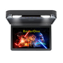 Buy 13.3'' Car DVD 1080P High Resolution Roof Mount Monitor Flip down Over head Car Ceiling Wide Drop Down LCD Monitor Display HDMI directly from merchant!