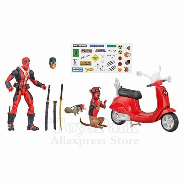 Deadpool and Dogpool Corps Marvel Legends Ultimate Hasbro Original 1
