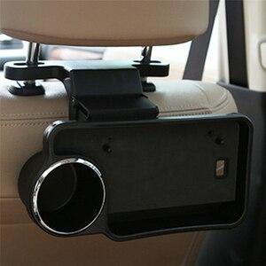 Автомобильное автомобильное заднее сиденье, стол для питья, держатель подноса для чашки, настольная подставка, крепление для автомобильног...