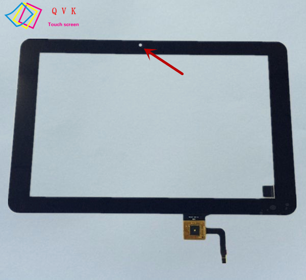 Black 10.1 Inch P/N 101056 07A V1 tablet pc capacitive touch screen glass digitizer panel Free shipping|capacitive touch screen|touch screen|capacitive touch panel - title=