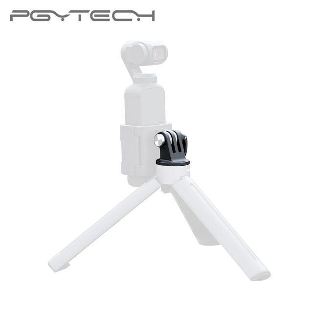 PGYTECH dji Osmo アクションカメラユニバーサルマウントに 1/4 移動プロ 4567 ビデオコンバータヘッド OSMO ポケット selfie スティックコネクタ