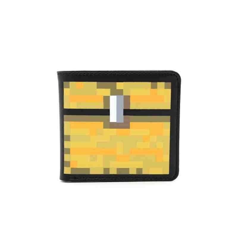 Freies Verschiffen Minecraft Mosaik Brieftasche Cartoon Gesicht ...