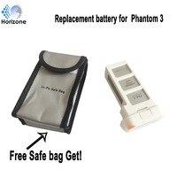 Free Safe Bag HORIZONE 4500mAh Replacement DJI Phantom 3 Battery For DJI Phantom 3 SE Phantom