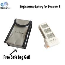 Free Safe bag !HORIZONE  4500mAh Replacement DJI Phantom 3 battery for DJI Phantom 3 SE  Phantom 3 Advanced