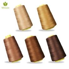 bbc1717a171 Швейные DIY нитей кожа вощеная нить шнур для DIY Ремесленная полиэстер шить  джинсы нить 5 цветов Лидер продаж
