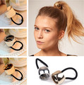 New Siliver Gold Color  Hair Elastic Hair Bands Hair Ties Women Hair Accessories