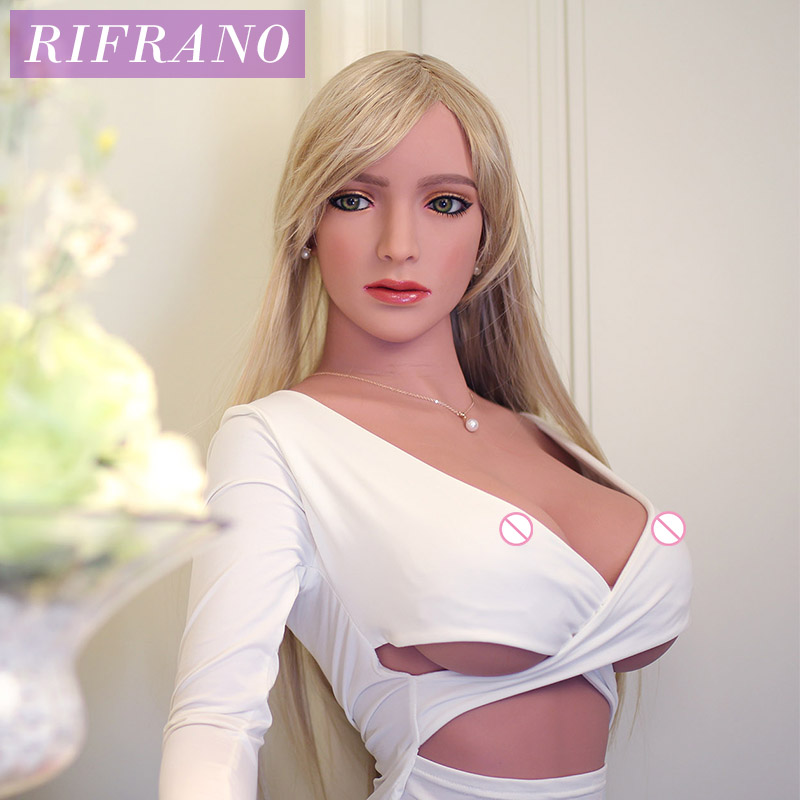 Rifrano 168cm Big Breast Full TPE Silicone Sex Dolls for Men Realistic Love Doll Sexy Toy