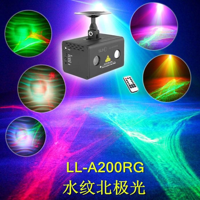 Water color Laser light The effect of the northern lights Stage lights Sound bar lamp Laser light bride of the water god v 3