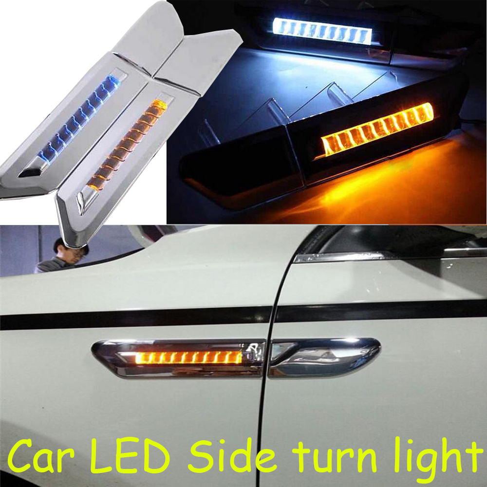 1 pair high quality 12v 3w 46 leds car side turn signal lights led car side