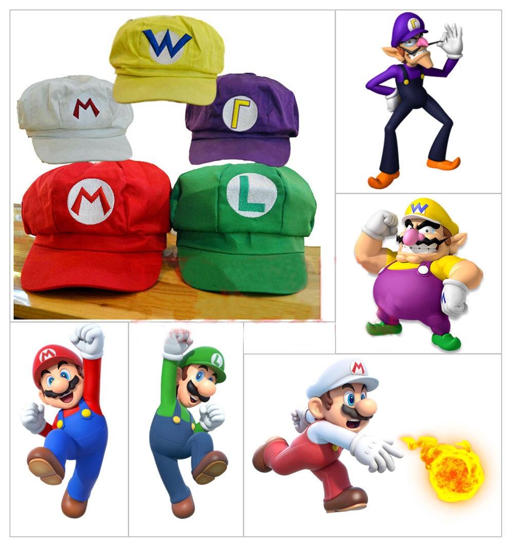Online Buy Wholesale mario bros hat from China mario bros