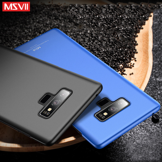super popular 99bcf 96b8f US $4.49 10% OFF|Msvii For Samsung Galaxy Note 9 Case Note9 Luxury 360 Full  Body Case Hard Frosted PC Back Cover Case For Samsung Note 9 Capa-in ...