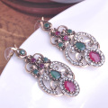 Fashion Women's Turkish Earrings Collar Woman Brincos Grandes Relogio Feminino Vintage Earring Brand Christmas Earings Aretes