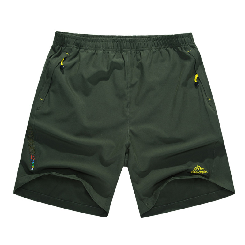 Outdoor Men fishing Quick drying shorts summer 5 minutes trunks hiking cycling shorts breathable Super light sports shorts