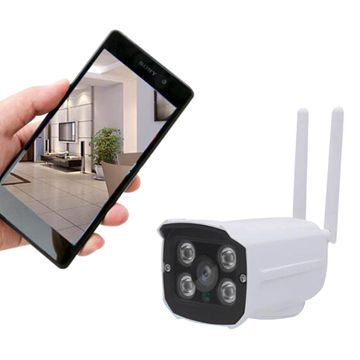 Outdoor wireless 720P Wi-Fi IP camera support P2P ONVIF APP remote control iOS/androidOutdoor wireless 720P Wi-Fi IP camera support P2P ONVIF APP remote control iOS/android