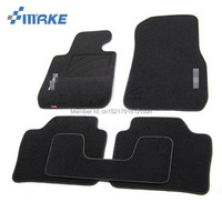 smRKE For BMW 3 Series Car Floor Mats Carpets Customized Antiskid Hydrophil Fiber Front & Rear Full Set LHD RHD