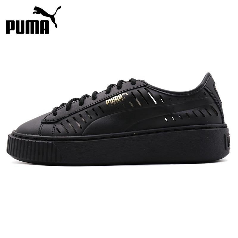 a35bac35347301 Original New Arrival 2018 PUMA Basket Platform Summer Women s Skateboarding  Shoes Sneakers
