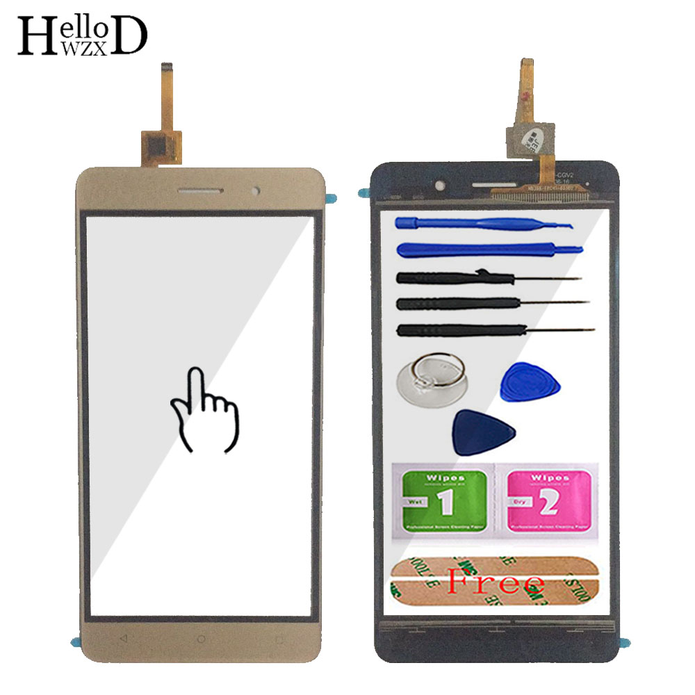 5.5'' Mobile Phone Touch Glass Touch Screen Glass For Bluboo Maya Digitizer Panel Front Glass Lens Sensor Capacitive Adhesive