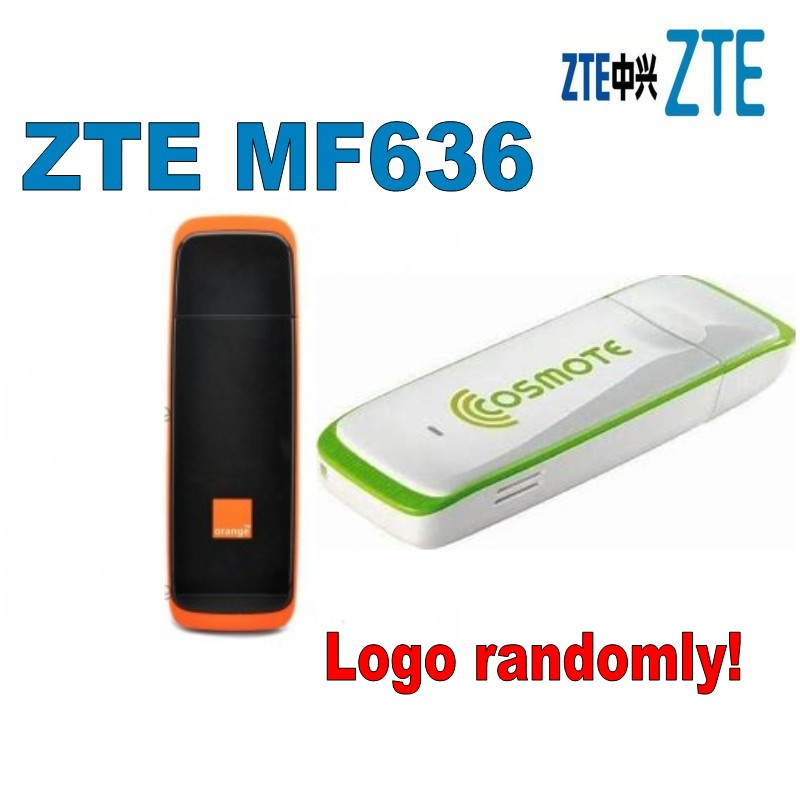 Lot Of 100pcs ZTE Mf636 HSDPA Wireless 7.2Mbps USB 3G Modem Dongle  DHL Free Shipping