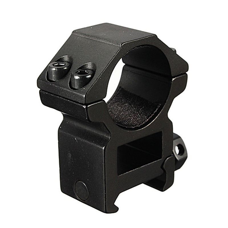2pcs/set 25.4mm Hunting Accessories Scope Ring High Profile Fit For 20mm Picatinny Weaver Rail Mount Flashlight Mounts Outdoor