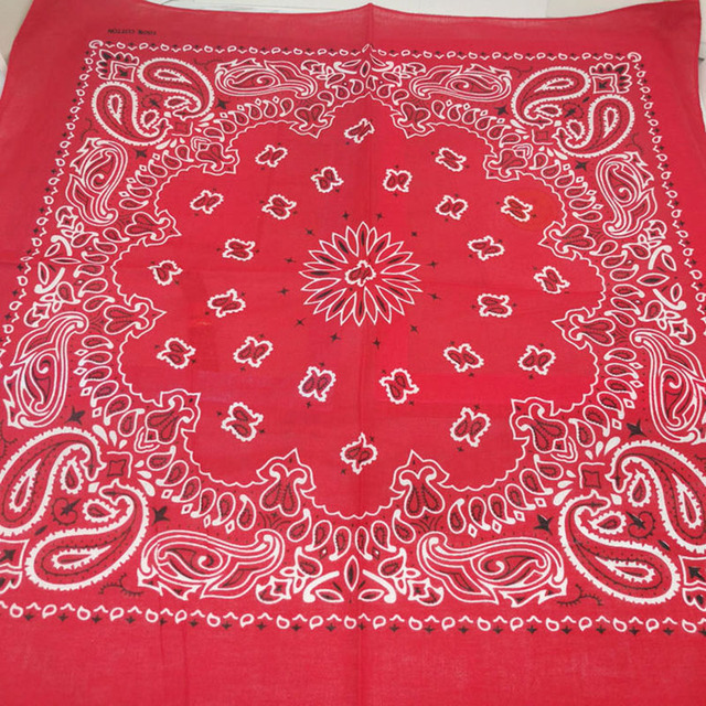 100% Cotton Bandana Square Scarf  3