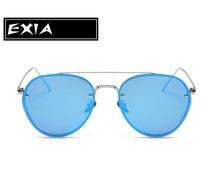 Pilot Sunglasses Design Female Fashion Eyewear Polarized Lenses EXIA OPTICAL KD-8087 Series