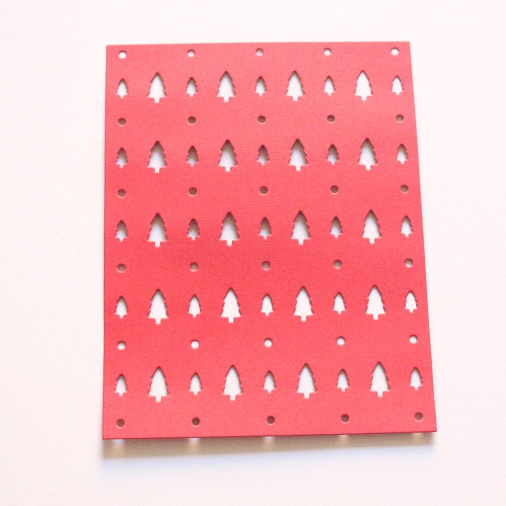 pine tree layer metal Dies cutting decorative Scrapbooking Steel Craft Die Cut create Stamps Embossing paper Stencil