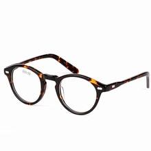 4f86bb8009a6a Vazrobe acetato gafas marco hombres mujeres Johnny Depp pequeñas gafas de  dioptrías encargo prescripción óptica gafas