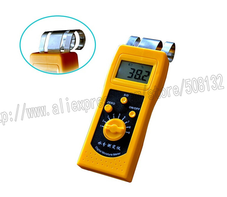 TOKY DM200W Portable Digital Wood Moisture Meter DM 200W Timber Moisture Tester Analyzer