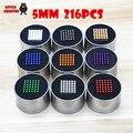 5mm 216 pcs bolas magnéticas de neodímio neo níquel contas de esferas ímãs enigma cubo mágico neo cubo mágico diy crianças brinquedos educativos