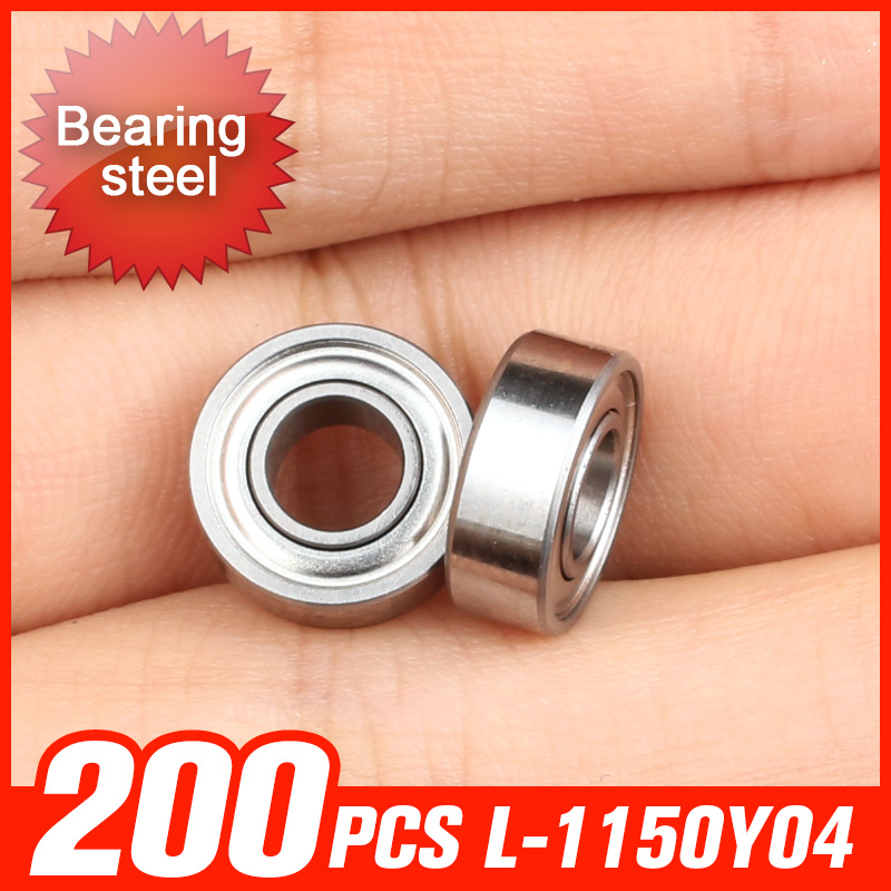 200pcs L-1150Y04 Bearing 11x5x4mm Bearings For Household Appliances Automotive Transmission Machine Spindle Hardware Accessories f 846067 01 f846067 846067 automobile transmission bearings 56x86x25 mm bearing good quality auto bearing