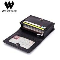 Westcreek Brand Business Hand Knitting Sheepskin Passport Holder Genuine Leather Card Holders Driving License Bag Coin