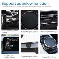hd מסך אנדרואיד 8.0 עד רכב DVD Navi Player עבור BMW 7 Series F01 F02 2013 ~ 2015 NBT אודיו סטריאו HD מסך מגע הכל באחד (4)