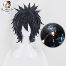 Anime Final Fantasy Noctis Lucis Caelum Wig FF15 XV Heat Resistant Synthetic Hair Cosplay Wigs For Adult Men Women + Cap