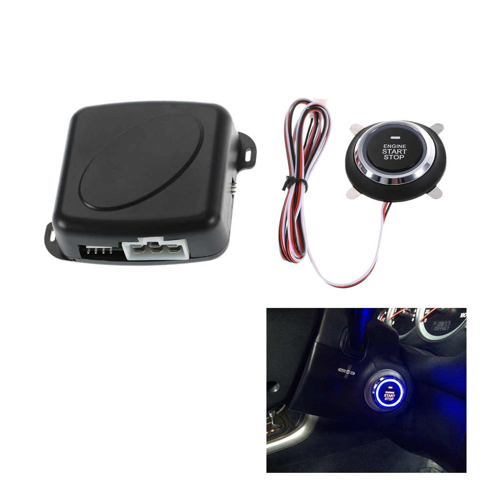 Interrupteur d'allumage automatique de démarrage du bouton poussoir Starline du moteur d'alarme de voiture pour bmw e46 e90 ford focus 2 volkswagen mazda jetta