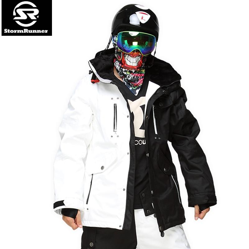 Garantie Authentique! Mâle Ski Vestes Hommes de, Thermique Cottom Rembourré Ski Snowboard 2018 NOUVEAUX hommes de Haute Qualité Veste