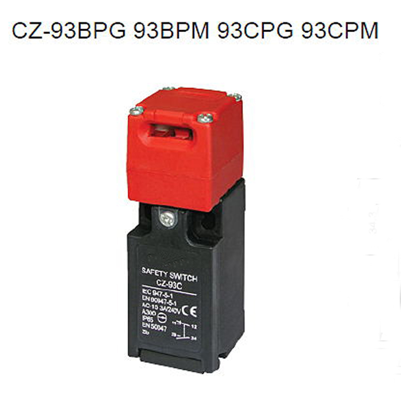 CZ-93C High Quality Safety Key Interlock Switches IP65 Limit Switch with CZ93-K1 Key цена