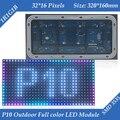 5500CD/M2 Alto brilho de Alta qualidade 320*160mm 32*16 pixels RGB SMD3535 1/4 scan Ao Ar Livre Full color P10 LEVOU módulo de tela